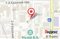 Схема проезда до компании Сетани в Москве