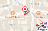 Схема проезда до компании Усадьба в Москве
