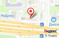 Схема проезда до компании Мартинэкс в Москве
