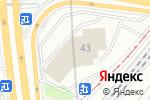 Схема проезда до компании Townparts в Москве