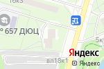 Схема проезда до компании Fizalis в Москве