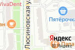 Схема проезда до компании Папа Джонс в Москве