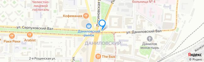 площадь Серпуховская Застава