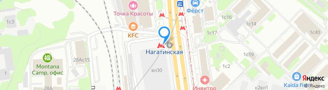 метро Нагатинская
