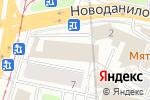 Схема проезда до компании Аск Эдьюкейшн в Москве