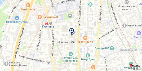 ОТДЕЛЕНИЕ ПОЛЯНКА на карте Москве
