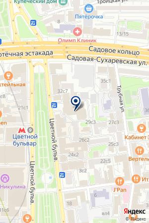 Comod на карте Москвы