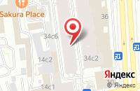 Схема проезда до компании Селена Интернешнл в Москве