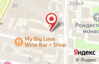 Схема проезда до компании Коста Эсперанса Консалтинг в Москве