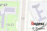 Схема проезда до компании Седьмая книга в Москве