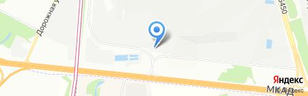ПАКОТОРГ на карте Москвы