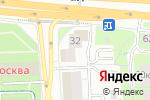 Схема проезда до компании Хроника в Москве