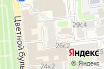 Схема проезда до компании Альянс Онлайн в Москве