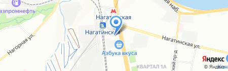 Глаза и Линзы на карте Москвы