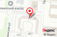 Схема проезда до компании Перфолинк в Москве