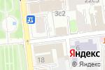 Схема проезда до компании Гослото в Москве