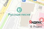 Схема проезда до компании Русская песня в Москве