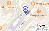 Схема проезда до компании ПТФ ТЕХПРОГРЕСС в Москве