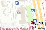 Схема проезда до компании Академия Безопасности и Капитального Строительства в Москве