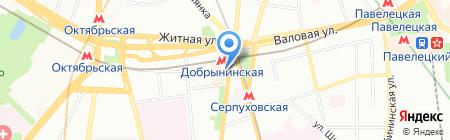 Дивафлорист на карте Москвы
