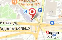 Схема проезда до компании ВКС групп в Москве