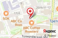 Схема проезда до компании Билдинг Коммерция в Москве