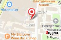 Схема проезда до компании Эско-Инверсия в Москве