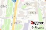 Схема проезда до компании Русский международный банк в Москве