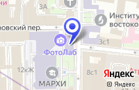 Схема проезда до компании ПРОЕКТНАЯ ФИРМА МАРХИ в Москве