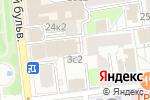 Схема проезда до компании Bonton в Москве