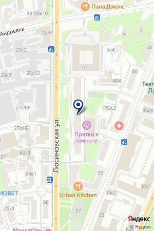 ПРЕДСТАВИТЕЛЬСТВО В МОСКВЕ ПРОИЗВОДСТВЕННАЯ ФИРМА АВИАДВИГАТЕЛЬ на карте Москвы