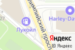 Схема проезда до компании Пятница в Москве