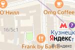 Схема проезда до компании Онлайнтурс.ru в Москве