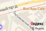 Схема проезда до компании Банк Сервис Резерв в Москве