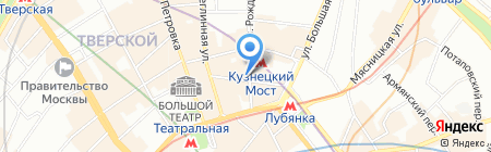 Regcafe на карте Москвы