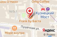 Схема проезда до компании Триол в Москве