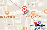 Схема проезда до компании Глав-Пресс в Москве