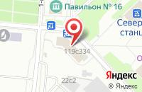 Схема проезда до компании Творческое Объединение  в Москве