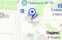 Схема проезда до компании ВЫСТАВОЧНАЯ КОМПАНИЯ ИНТЕРТРЕЙНИНГ в Москве