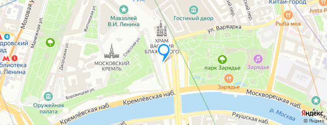 площадь Васильевский Спуск