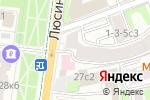 Схема проезда до компании Серпуховские ворота в Москве