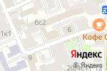 Схема проезда до компании Vista в Москве