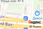 Схема проезда до компании АНКОМП в Москве