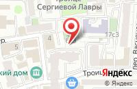 Схема проезда до компании Трансстройуниверсал в Москве