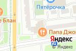 Схема проезда до компании Социнвестбанк в Москве