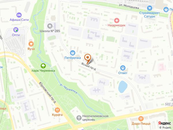 Остановка Ясный пр., 11 в Москве