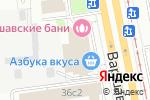 Схема проезда до компании BLOOMROOM в Москве