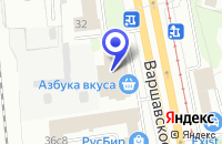 Схема проезда до компании ПТФ СЛАМЕБЕЛЬ в Москве