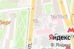 Схема проезда до компании Правозащита в Москве