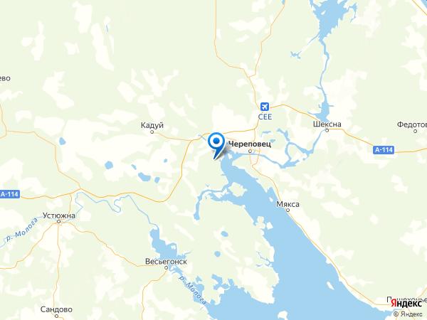 деревня Малая Дора на карте